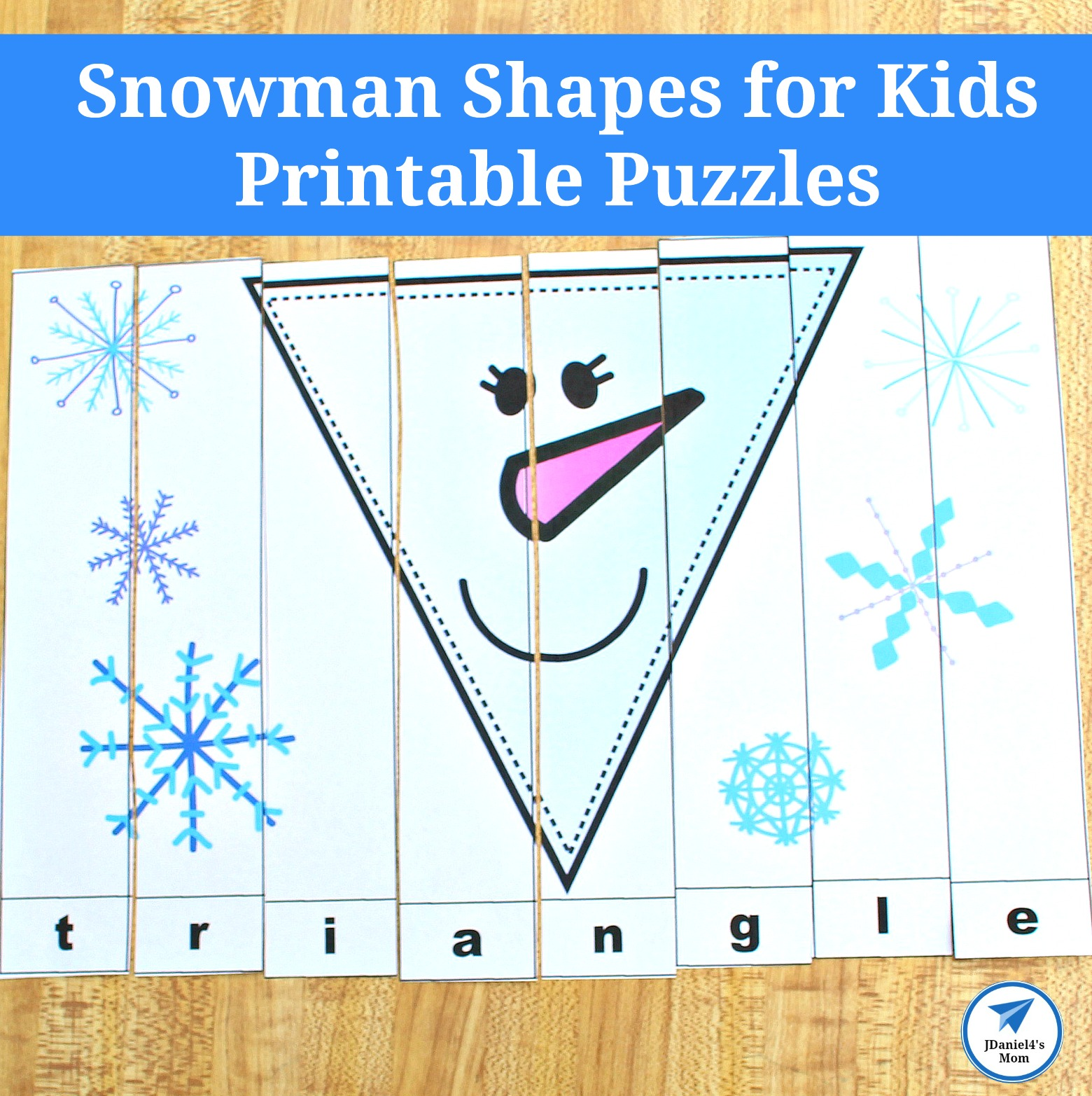 picture about Puzzles for Kids Printable referred to as Snowman Styles for Youngsters Printable Puzzles - JDaniel4s Mother