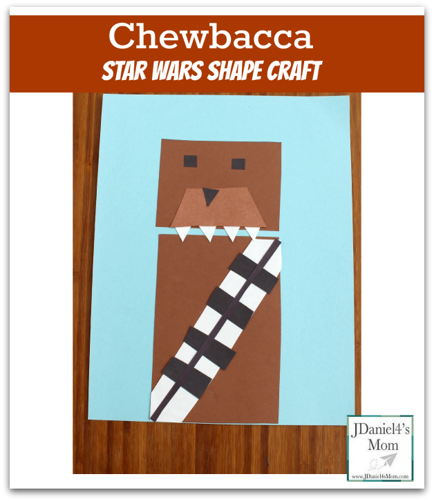 Star Wars Chewbacca Shape Craft Facebook