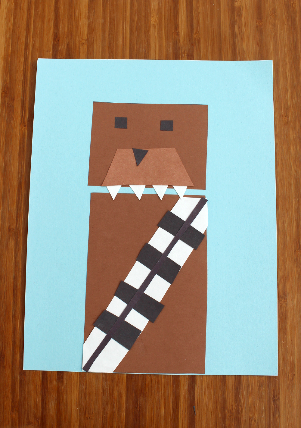 Star Wars Chewbacca Shape Craft