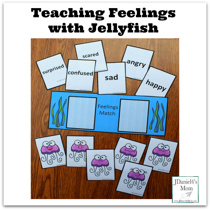 Teaching Feelings with Jellyfish