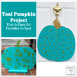 Teal Pumpkin Project That is Easy for Families to Spot