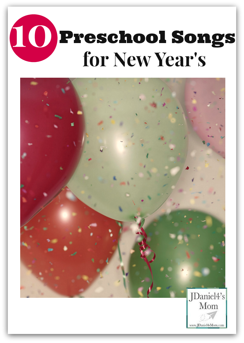 ten preschool songs for new years