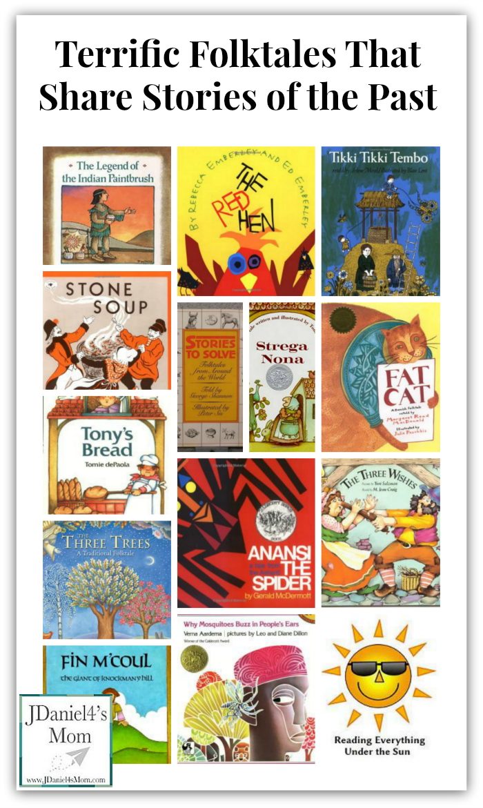 Terrific Folktales That Share Stories of the Past