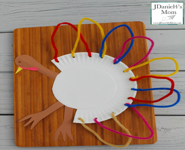 Thanksgiving Crafts For Kids Paper Plate Turkeys