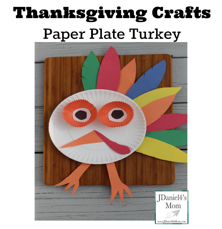 sc 1 st  JDaniel4s Mom & Thanksgiving Crafts- Paper Plate Turkey