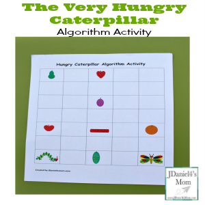 The Very Hungry Caterpillar Coding Activity