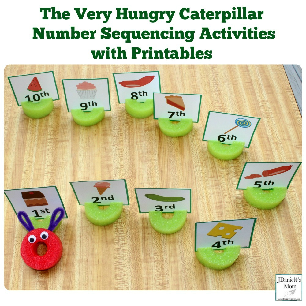 picture about Very Hungry Caterpillar Printable Activities referred to as The Extremely Hungry Caterpillar Selection Sequencing Routines