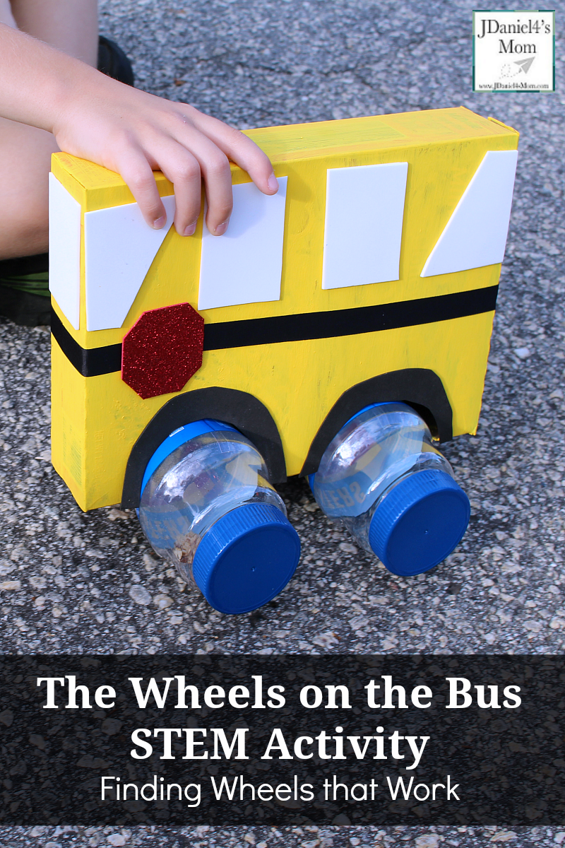 The Wheels on the Bus STEM Activity Finding Wheels that Work