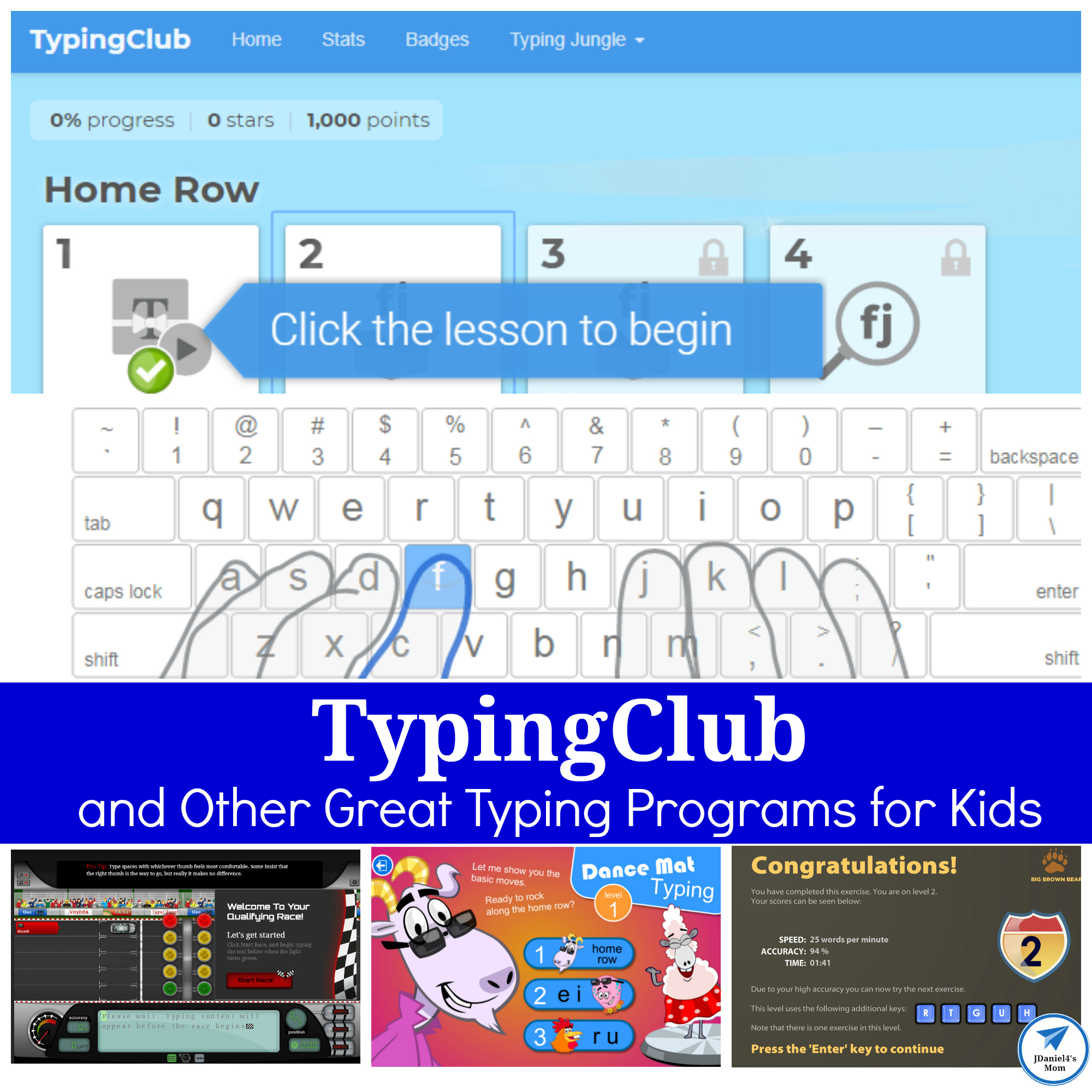 TypingClub and Other Great Typing Programs for Kids