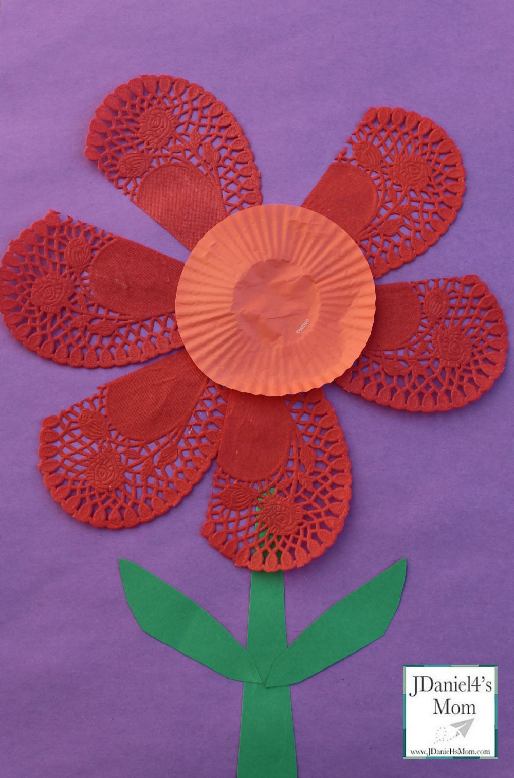 Valentine Ideas- Flower Craft for KidsValentine Ideas- Flower Craft for Kids