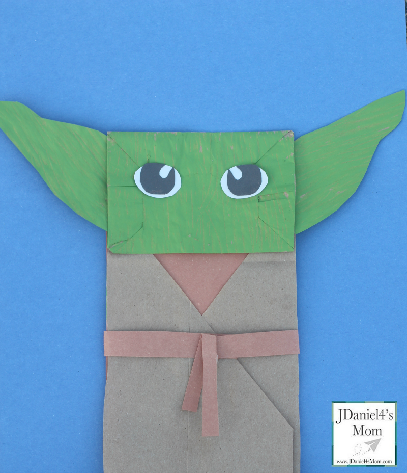 Yoda Puppet- Star Wars Craft Eyes