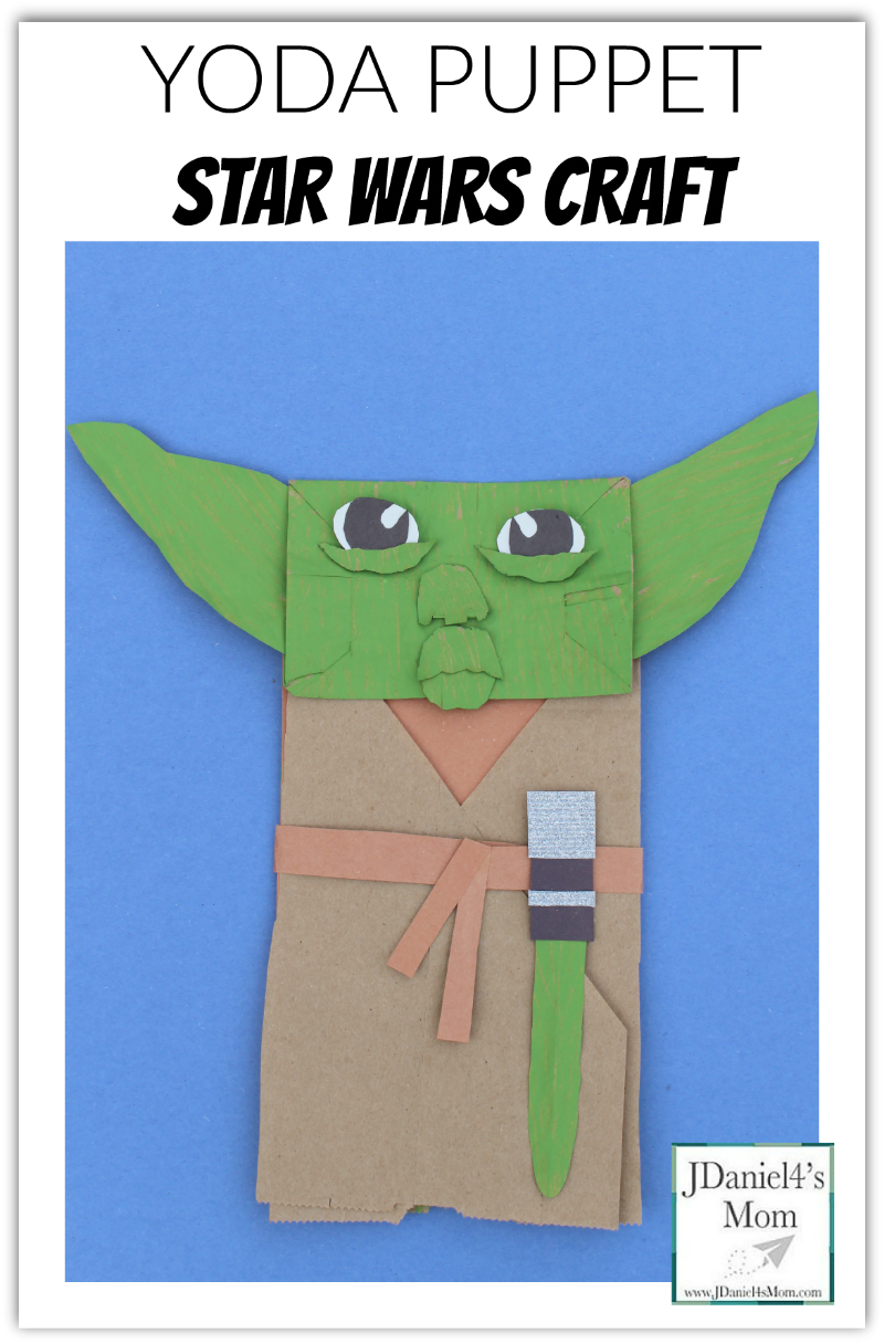 Yoda Puppet Star Wars Craft- Opening