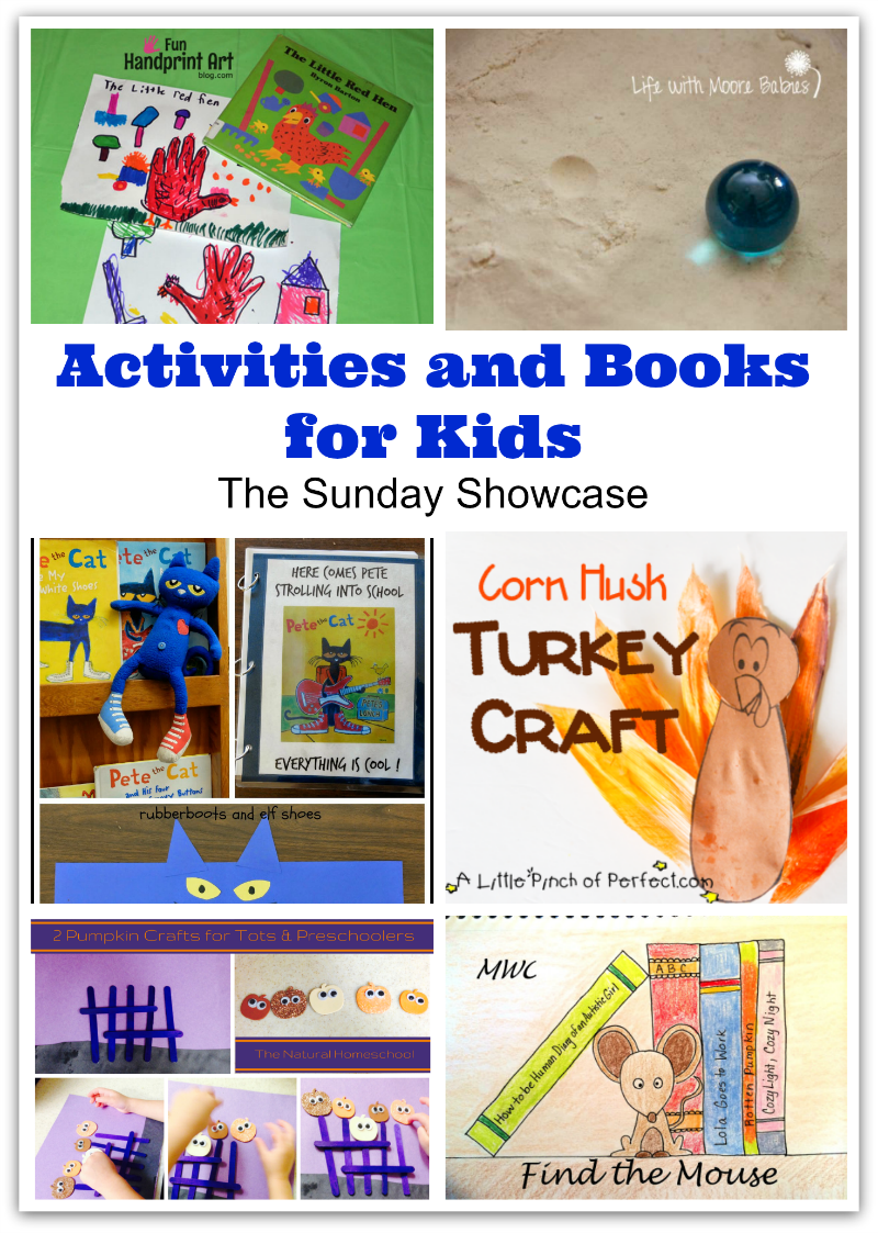 Activities and Books for Kids