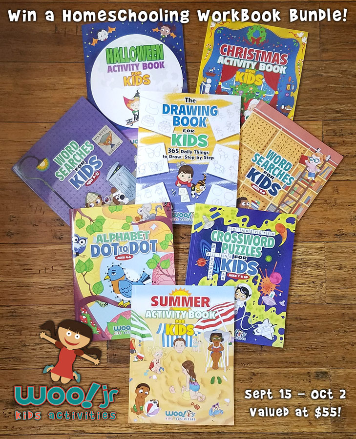 Woo! Jr. Activity Books - Books for Preschool and School Age Children