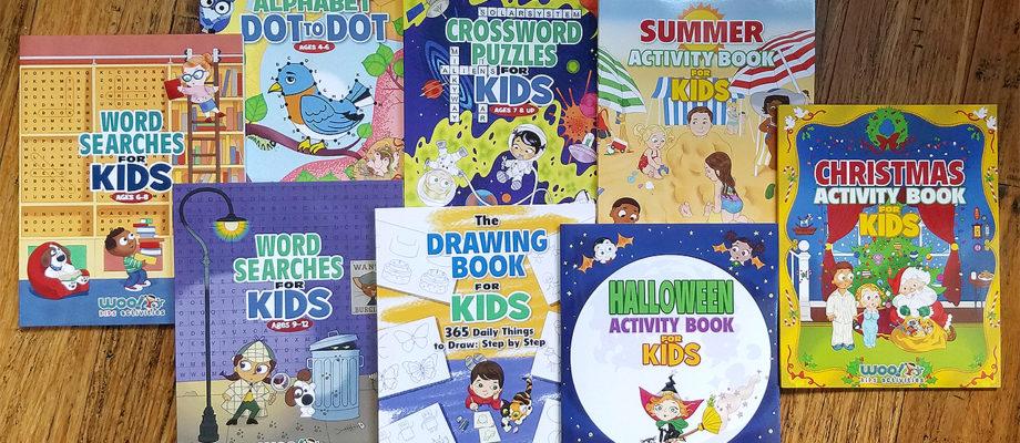 Woo! Jr. Kids Activity Books Giveaway