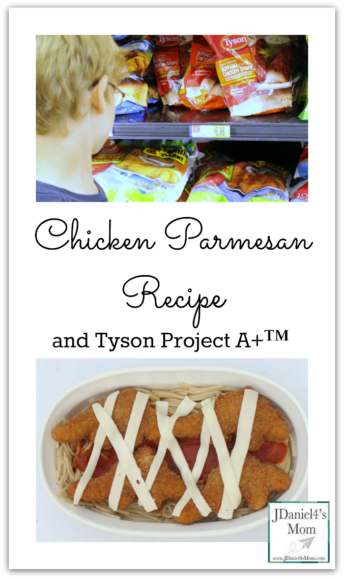 Chicken Parmesan Recipe and Tyson Project A+™