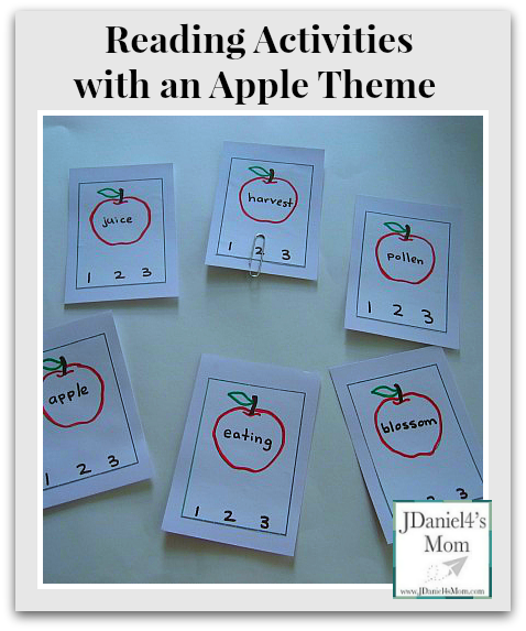 {Read.Explore.Learn.} Reading Activities with an Apple Theme