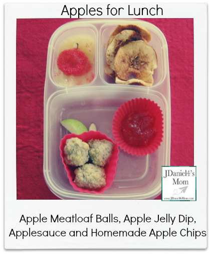 Kids Lunch- Apple Filled Lunch