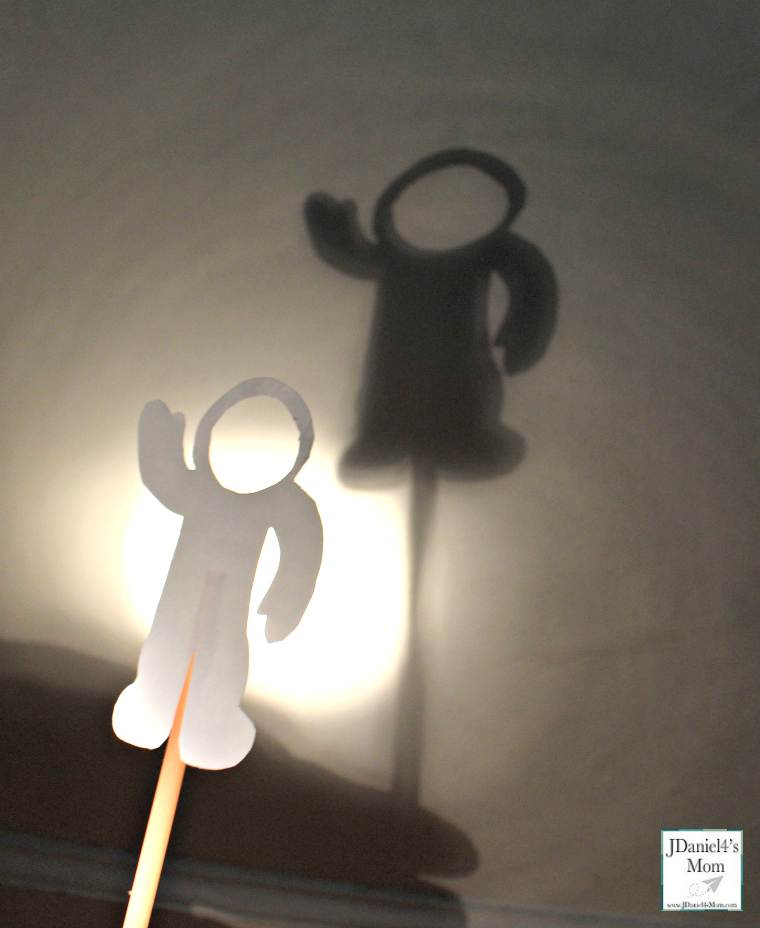 Exploring the World of Shadows with Shadow Puppets - Astronaut Crafted Shadow Puppet