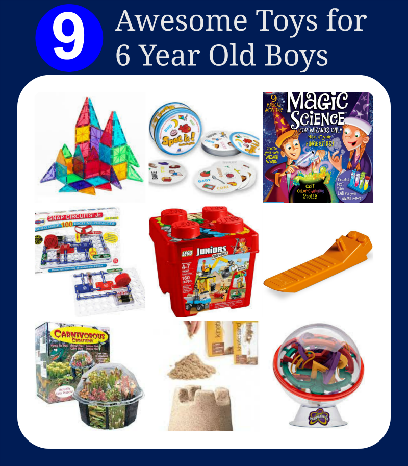 Best Toys Gifts For 6 Year Old Boys : Awesome toys for six year old boys