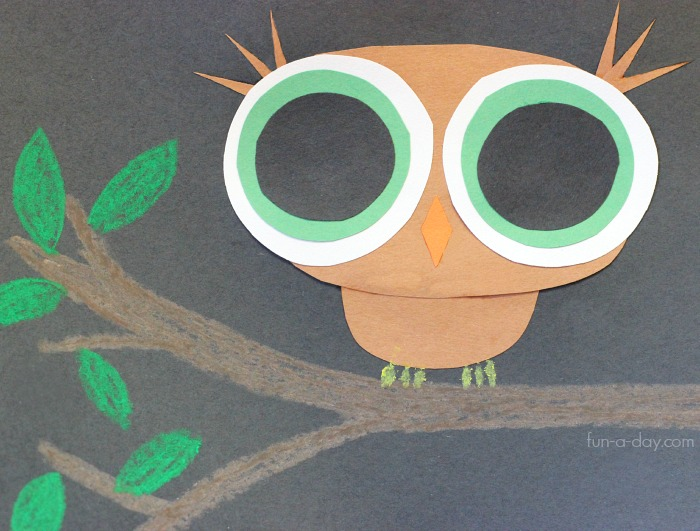 Fall Crafts With Owls For Kids