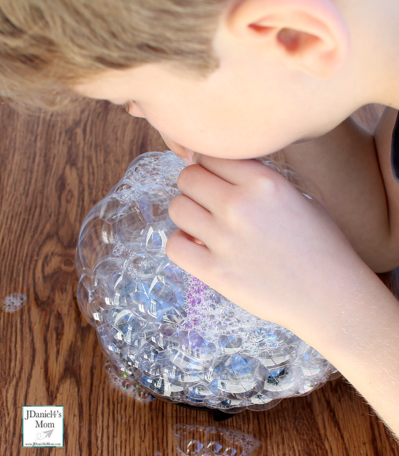Bubble Games and Activities- This card said blow into the liquid.