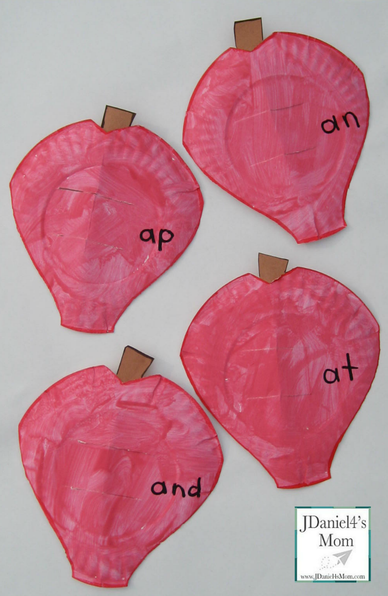 Building Word Families- Worms and Apples