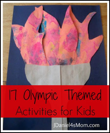 17 Themed Olympic Activities for Kids