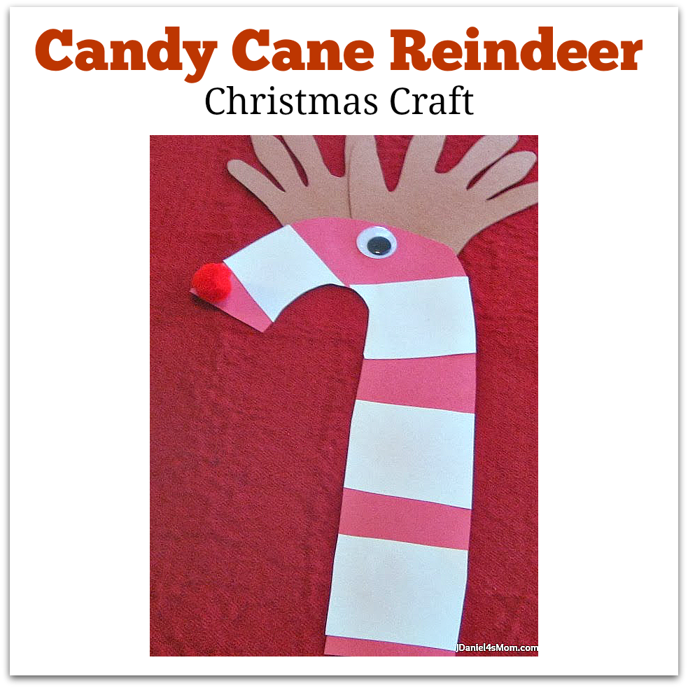 Christmas Craft- Candy Can Reindeer
