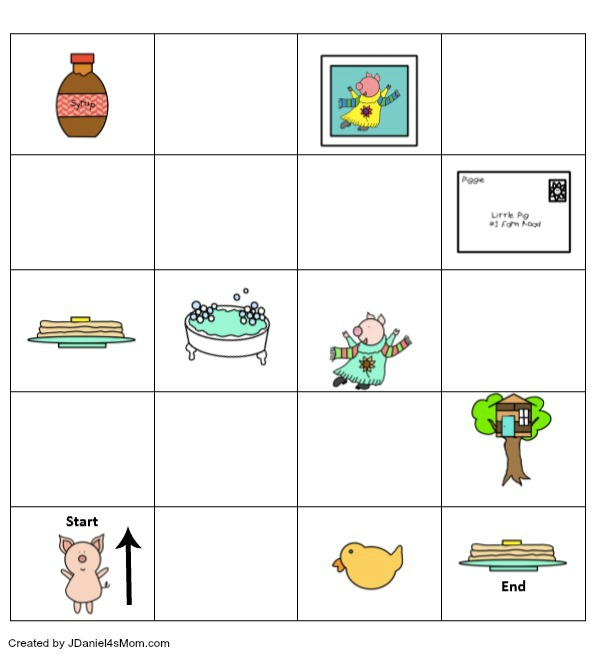 If You Give a Pig a Pancake Coding Printable - Children at home and students at school can learn about coding and building an algorithm while exploring this printable. It can be printed in BW or color. Children will love coding a favorite story. Here is what the coding printable looks at the beginning.