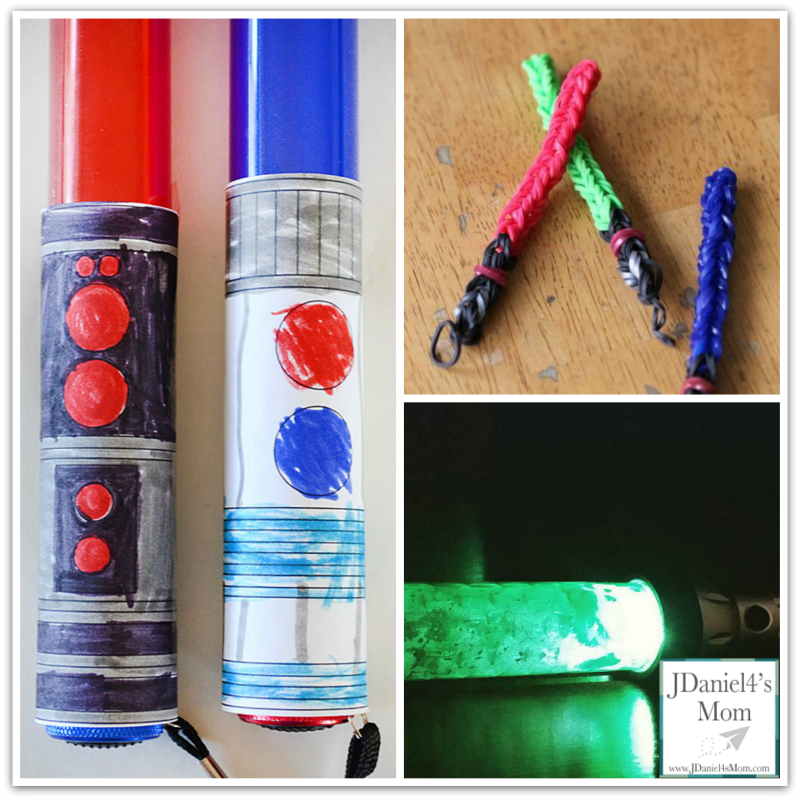 Creations from Star Wars Movies Kids Make