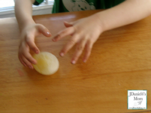 Cool Science Experiment-Making a Rubber Egg