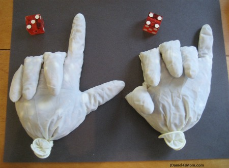 Counting Hands- Math Activity