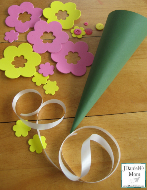 Crafts for Kids- May Day Basket