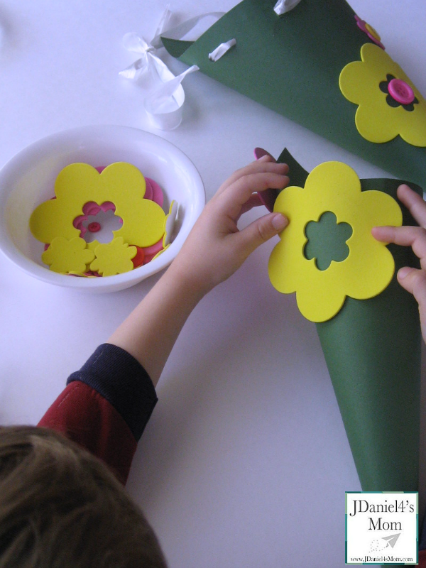 Crafts For Kids May Day Baskets