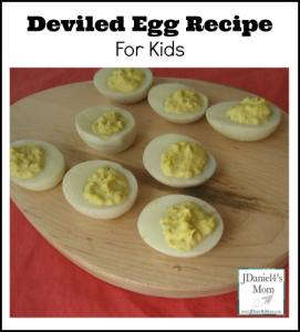 Deviled Egg Recipe For Kids