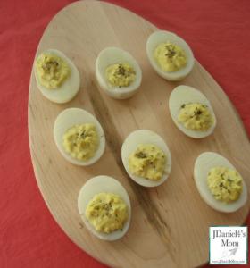 Deviled Egg Recipe for Kids Completed