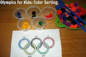 Olympic for Kids: Color Sorting