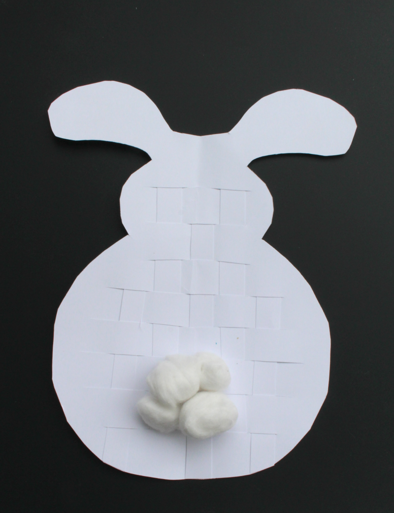Easter Crafts- Woven Bunny