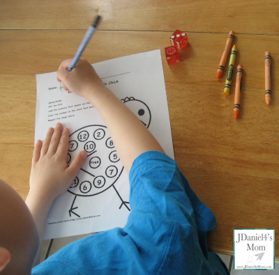 Easter Coloring Pages with Math and Reading Skills.