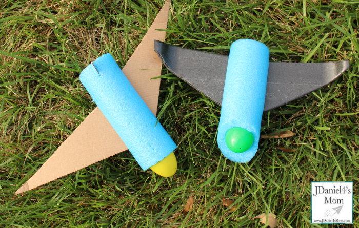 Engineering for Kids How to Build Pool Noodle Airplanes