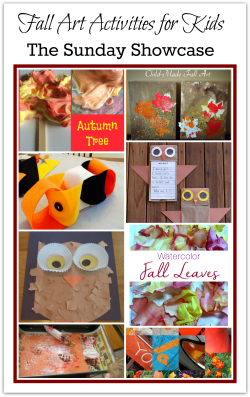 Fall art activities for kids