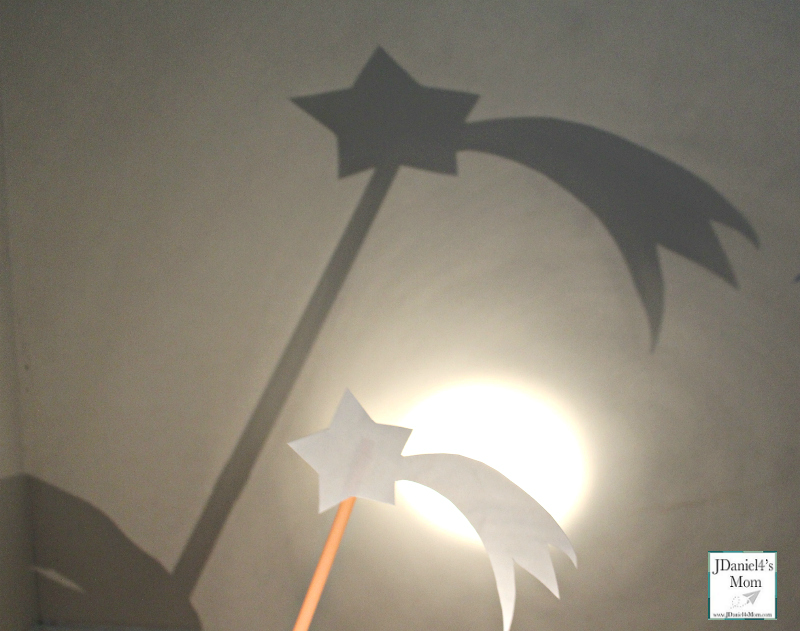 Exploring the World of Shadows with Shadow Puppets - Falling Star Shadow Puppet