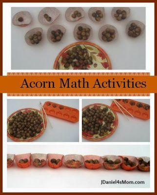 acorn math activities