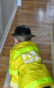 Community Helper- Firefighter Poem and Craft