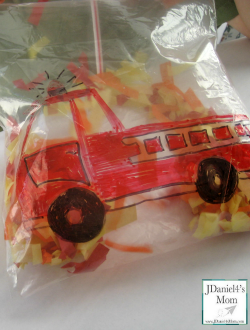 Fire Truck Activity for Kids