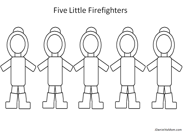 Community Helpers Activities For Kindergarten Featuring Firefighters - Community-coloring-pages