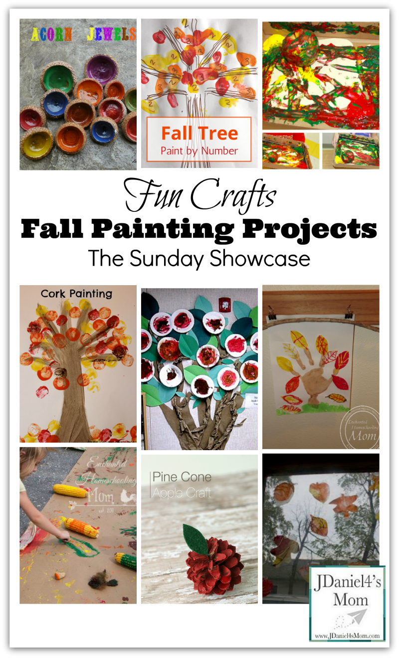paint craft ideas crafts fall painting projects 2593