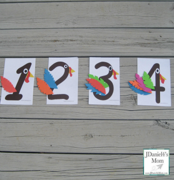 Fun Math Games with Number Turkeys