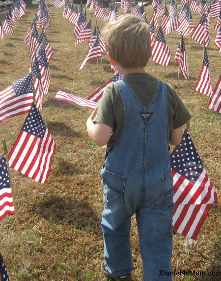 I Am Grateful for Family {21 Days of Gratitude Challenge} - Carrying Flags